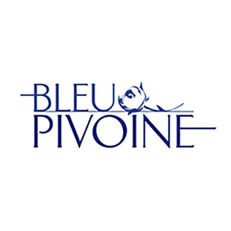 Logo Bleu Pivoine