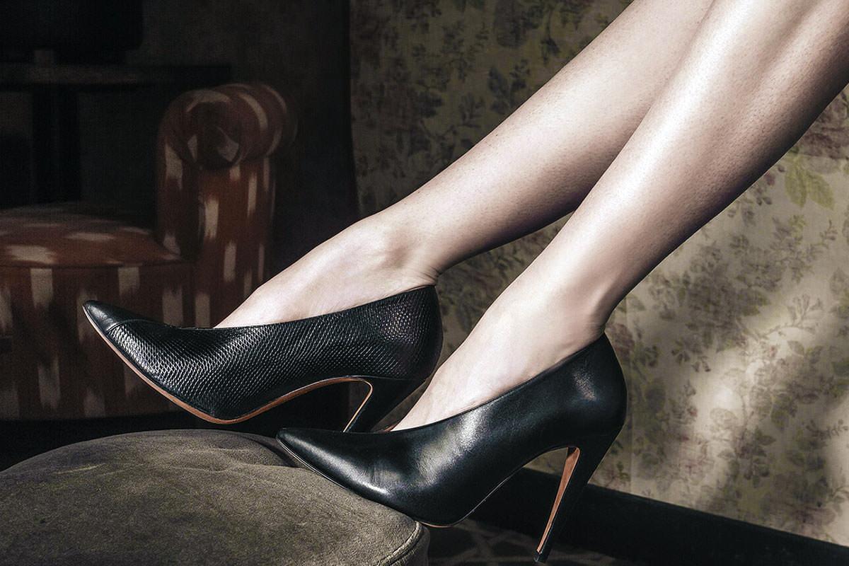 vente priv e pura l pez escarpins chaussures femme pas. Black Bedroom Furniture Sets. Home Design Ideas
